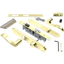 Cabinet Door Locks Latches by Skull Door Locks Wright Products 4 In Keyed Polished Brass Screen