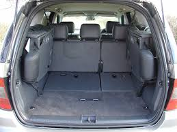 Bmw X5 7 Seater Boot Space - mercedes benz m class station wagon 1998 2004 features