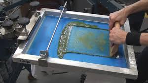 3 how to screen print tee shirts setting up 2 color job on press