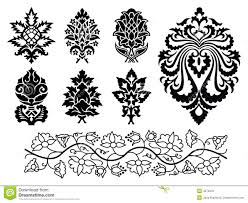 vector floral ornament set royalty free stock photos image 4572918