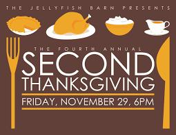 2nd thanksgiving invitation thanksgiving