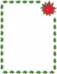 christmas menu borders holly garland border party gifts page