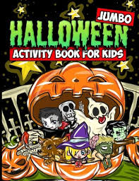 pdf jumbo halloween activity book kids halloween
