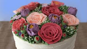 flower cakes buttercream flower cake tutorial how to cook that reardon