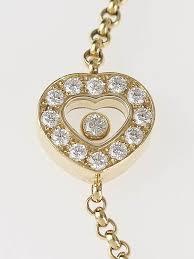 gold love you bracelet images Chopard 18k gold happy diamonds 39 i love you 39 bracelet yoogi 39 s closet jpg