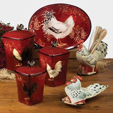 rooster canisters kitchen products 113 best rooster decor images on rooster decor