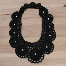 crochet necklace black images Crochet black silk necklace mirror sequin jnsc1 love that stuff jpg