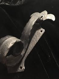 large spanish style wrought iron door knocker cool goth gothic