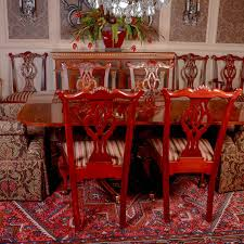 hickory dining room chairs dining table and chairs from hickory chair s mt vernon collection