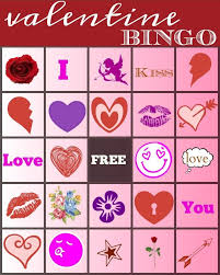 valentines bingo bingo the typical