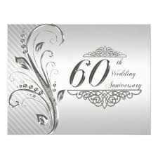 60th wedding anniversary greetings 59 best 60th wedding anniversary cards images on card