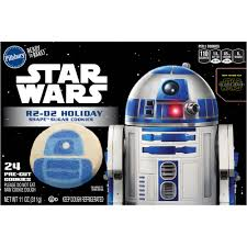 Pillsbury Ready To Bake R2 D2 Holiday Shape Sugar Cookies 24 Ct