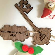 santa key personalised magic santa key by personalised gifts