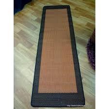 Outdoor Rug Runner by Hallway Rugs Evalasting 17 Terra Black 2 3m Free Shipping