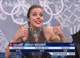 Ashley Wagner Meme - las caras que pone la patinadora ashley wagner la comidilla en sochi