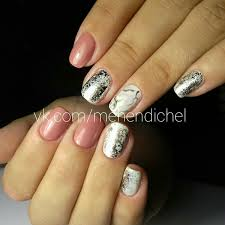 35 nail designs for winter white nail polish pretty nail art