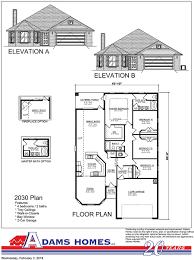 Breland Homes Floor Plans by Central Park Adams Homes