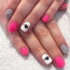 nurse nails nursing nails pink nails glitter nails gel nails