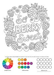 coloring pictures of notebook doodles sweets u0026 treats coloring u0026 activity book design