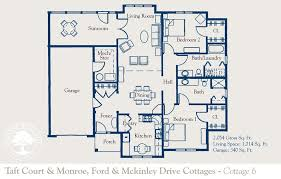 white rose cottage bed and breakfast accommodation floor plan 3d