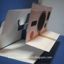extreme cards and papercrafting polaroid camera pop up card tutorial