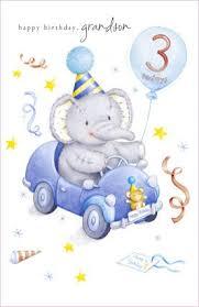 elliot u0026 buttons age 3 grandson birthday card amazon co uk