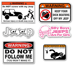Amazon Com Jeep Decals Mega Sticker Pack Automotive