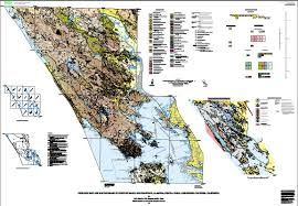 Marin Map Geologic Map And Map Database Of Parts Of Marin San Francisco