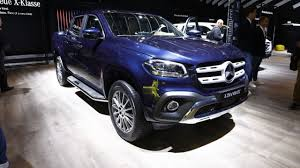 mercedes pickup 2017 mercedes benz x class pickup at iaa 2017 motor1 com photos