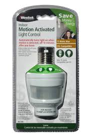 Westek Electric 30 Min In by Amertac Mlc2bc 75 Watt Indoor Motion Activated Light Control