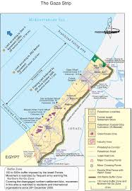 Map Of Al This Detailed Map Of Gaza Helps Explain The Conflict Vox