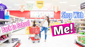 target shop with me back to school 2017