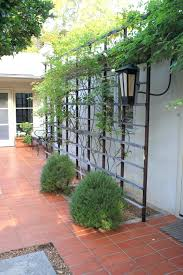 articles with wall mounted metal garden trellis tag metal wall