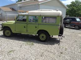 first land rover first spring outing 1966 land rover dormobile singing camel