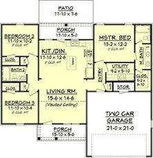 Split Ranch House Plans 8 Cliff May Inspired Ranch House Plans From Houseplans Com Ranch
