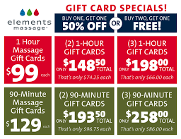 half price gift cards give the gift of health bogo half gift cards