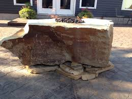 Fire Pit Backyard by 25 Stone Fire Pit Pictures Stone Fire Pit Nswpeace Org