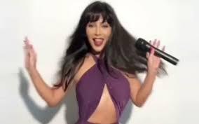 selena quintanilla purple jumpsuit costume sing just like selena quintanilla for