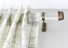 Lucite Drapery Rods Stunning Acrylic Curtain Rods Photos Interior Design Ideas