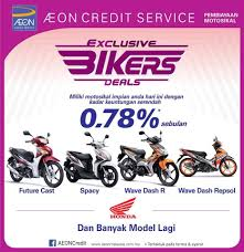 v power motor aeon credit services honda motorcycle promotion