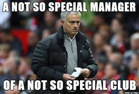 Mourinho Meme - jose mourinho not so special anymore manchester united too sportige