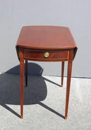 Vintage Drop Leaf Table Mahogany Drop Leaf Side Table Side Tables Ideas