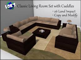 Wenge Living Room Furniture Second Marketplace Lok S Classic Living Room Set With