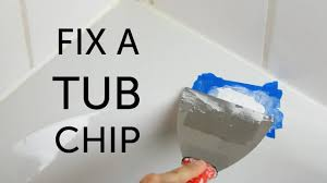 Can You Paint A Fiberglass Bathtub Diy Bathtub Repair Youtube