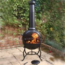 Steel Chiminea Chimineas White Stores The Outdoor Living Store