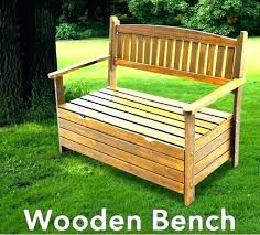 Garden Bench With Storage Wooden Garden Storage Bench Outdoor Storage Bench Pallet Outdoor