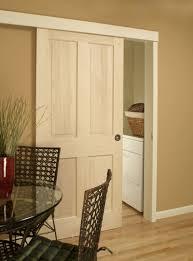 Wood Sliding Closet Door by Interior Wooden Sliding Closet Doors U2013 Glass Door