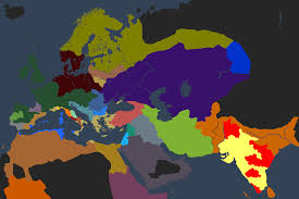World Religion Map Screenshot Of The Religion Map Mode Complete Image Warlords