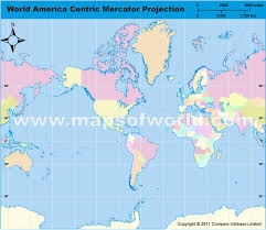 america in world map america centric world map in mercator projection