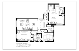 New York Apartments Floor Plans Nyc Amazing Package Deal 2 Adjacent Condo Apts Bls Realty Inc